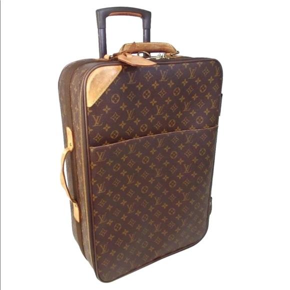 0b5f4a5a19ac Louis Vuitton Handbags - Louis Vuitton Pegase 60 Monogram Suitcase Carry On